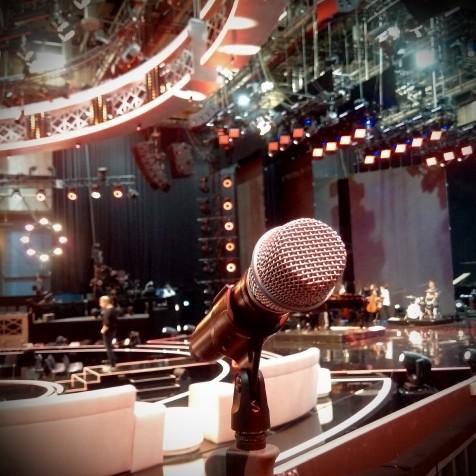 Studio behind the scenes